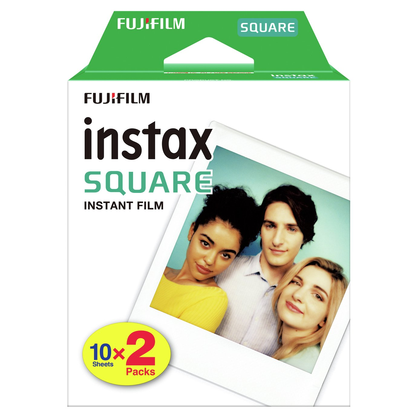 Instax Square Camera Film - 20 Pack from instax