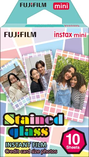 instax Stained Glass Mini Film, 10 Shot Pack from instax