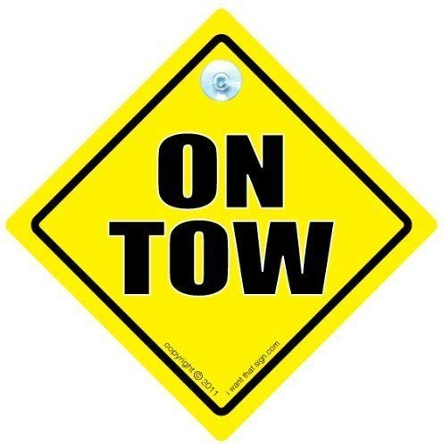 On Tow Car Sign, On Tow Sign, On Tow Car Sign, Car Sign, Bumper Sticker, Baby on Board, Driving Sign, Automobile Sign, Vehicle Sign, Joke car signTowing Sign, On Tow Sign, Car Sign, Bumper Sticker, Baby on Board, Driving Sign, Automobile Sign, Vehicle Sign, Car Safety Sign, Warning Sign, Caravan, Towing, Breakdown Sign, Decal, Bumper Sticker, Caravan Sign, Bumper Sticker Sign Style from iwantthatsign.com