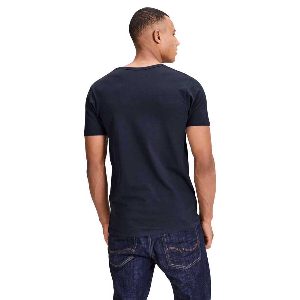 Jack & Jones Basic V Neck XL Navy Blue from Jack & Jones
