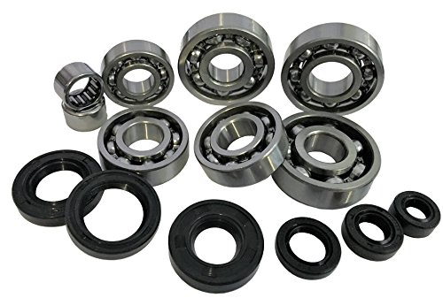 Complete Bearing Kit + Simmer Rings Crankshaft and Transmission Minarelli AM6 from khperformance
