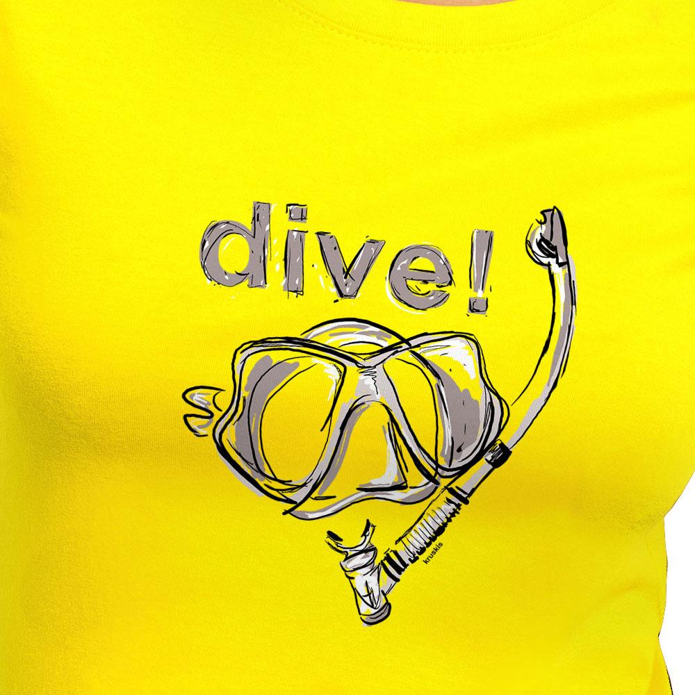 T-Shirts Dive from Kruskis