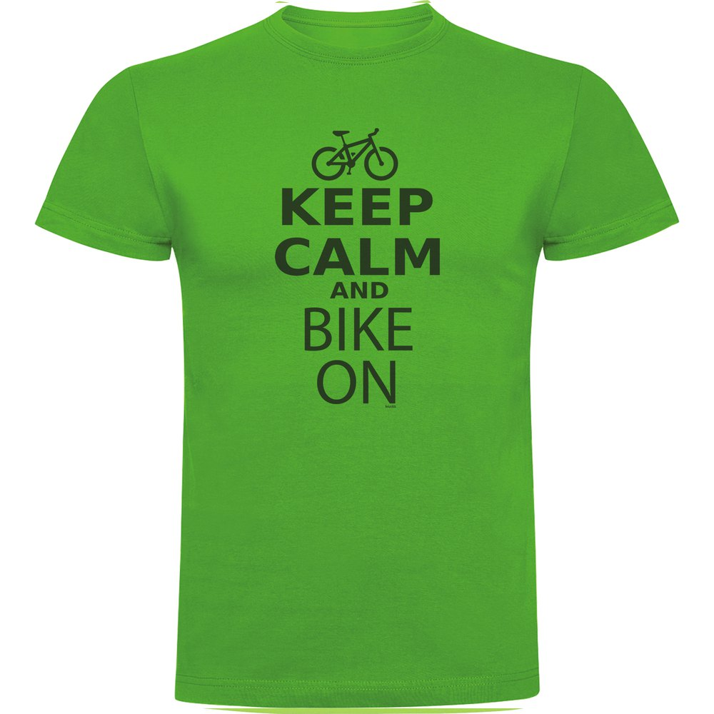 Keep Calm And Bike On from kruskis