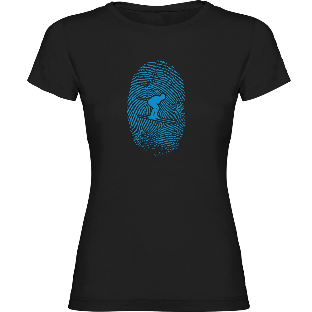 T-Shirts Skier Fingerprint from Kruskis