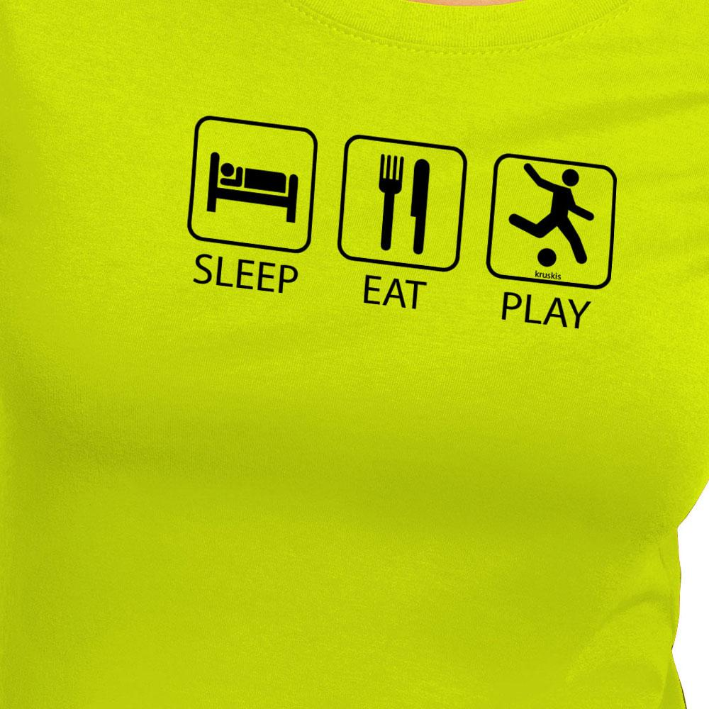 T-Shirts Sleep Eat And Play Football from Kruskis