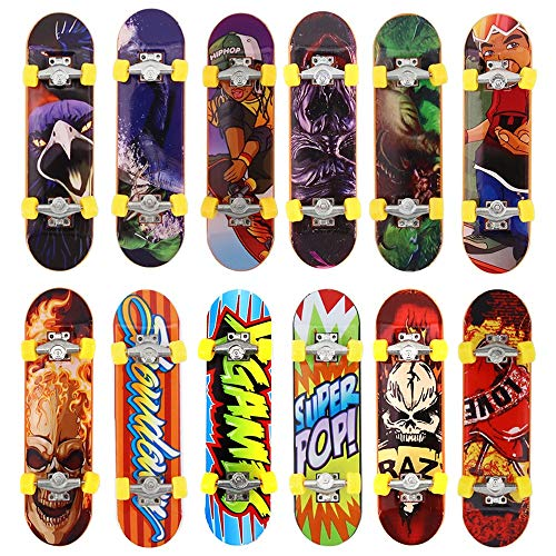 Kungfu Mall 5pcs Pack Finger Board Deck Truck Skateboard Boy Child Toy Kids Fingerboards from kungfu Mall