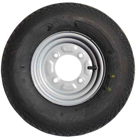 4.80 x 8 Wheel and Tyre 115mm PCD (LMX628) from leisure MART