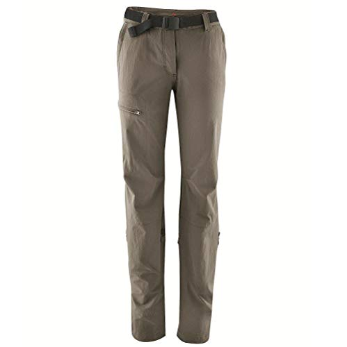 maier sports Women's Lulaka Functional Outdoor Stretch Pants - Teak, X-Small from maier sports