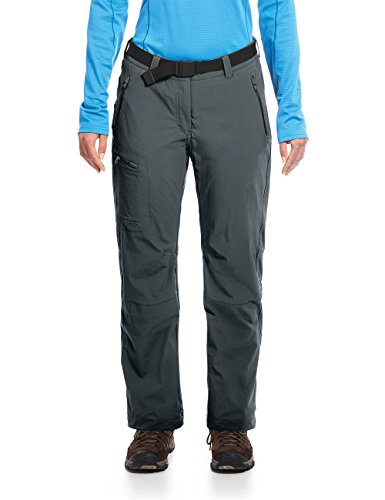 maier sports Women's Rech Mountain Ski Trousers, Womens, Rechberg, graphite from maier sports