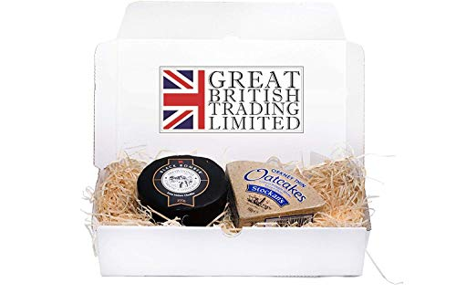 Snowdonia Black Bomber Cheddar Hamper 200g with Stockan's Thin Orkney Oatcakes from milkjiggers