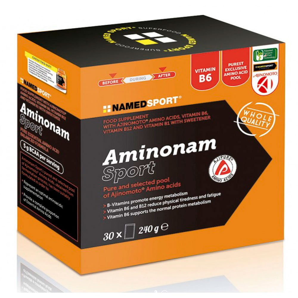 Sports supplement Aminonam Sport 30 Units Without Flavour from Named Sport
