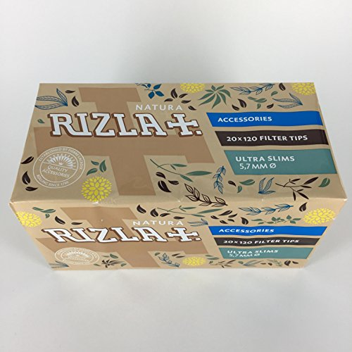 Rizla Natura Ultra Slim Filter Tips from natura