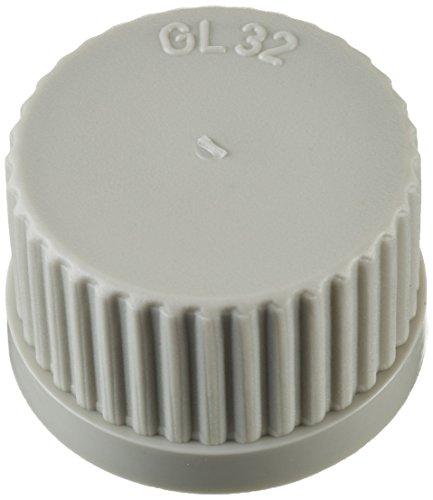 Neolab Electric 1680 Screw Caps GL 32 Polypropylene Full Foot Fin - Grey (Pack of 10) from neoLab