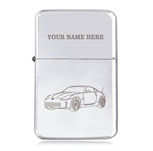 Nissan 350z Design - Personalised STAR Windproof Petrol Lighter