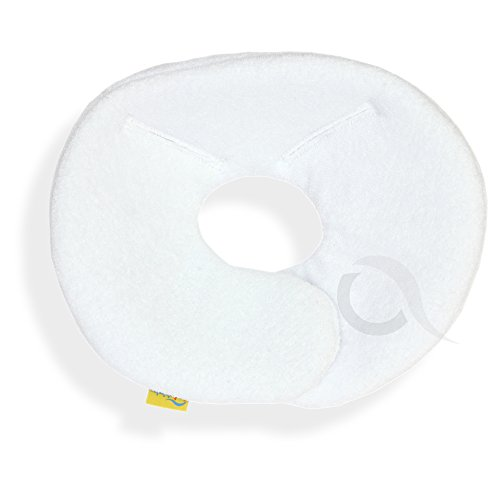 Head hugger , head support for Maxi - Cosi Pebble (terry cotton / white) from olobaby