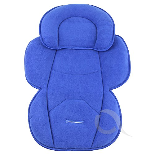 OLO BABY Infant Snuzzler Head Hugger & Full Body Support Liner for Car Seat Buggy Pushchair (royal blue) from olobaby
