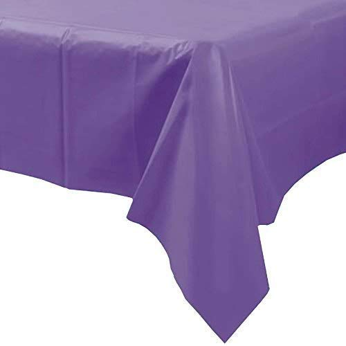 Unique Party 5088 Table Cover, (Purple) from Unique Party