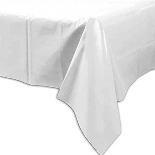 Unique Party 9514001 Table Cover, (White) from Unique Party