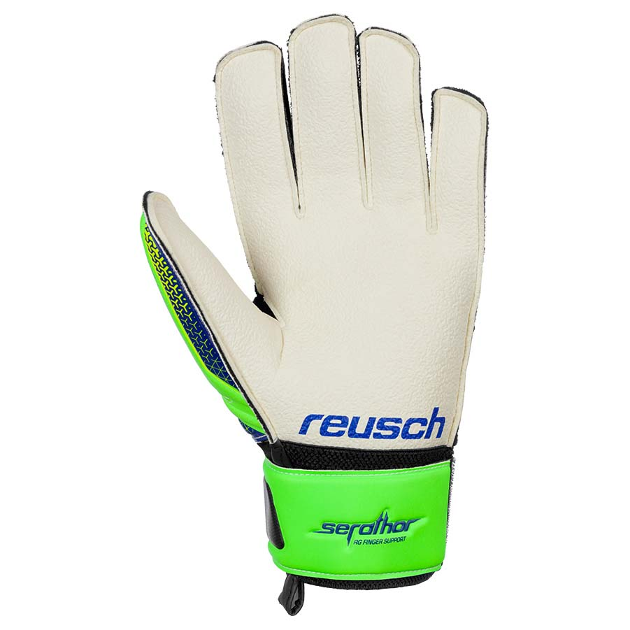 Goalkeeper gloves Serathor Rg Finger Support Junior from Reusch