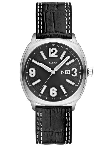 s.Oliver Men's Quartz Analogueue Watches SO-2201-LQ from s.Oliver