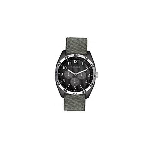 s.Oliver Men's Quartz Watch SO-2372-LM with Textile Strap from s.Oliver
