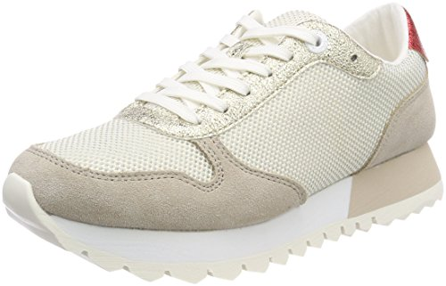 s.Oliver Women's 23668 Low-Top Sneakers, White (White Comb.), 6.5 UK from s.Oliver
