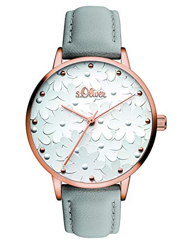 s.Oliver Women's Analogue Quartz Watch SO-3467-LQ from s.Oliver