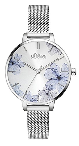 s.Oliver Women's Analogue Quartz Watch SO-3523-MQ from s.Oliver
