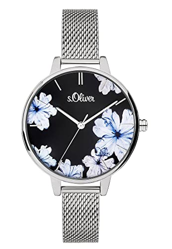 s.Oliver Women's Analogue Quartz Watch SO-3777-MQ from s.Oliver