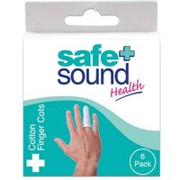 Safe and Sound Cotton Finger Cots 6 from safe + Sound