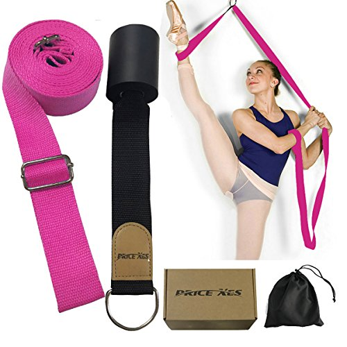 Leg Stretcher, Get More Flexible With The Door Flexibility Trainer, Premium stretching equipment for ballet, dance, gymnastics, taekwondo & MMA. Your own portable stretch machine! – INPAY (pink) from seaNpem