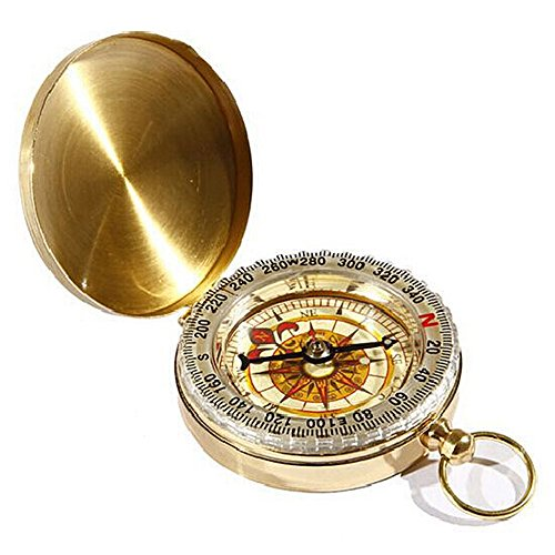 1pc 5.3 x 1.7cm Multipurpose Compass Navigation Pocket Watch Keychain For Camping & Hiking from seguryy