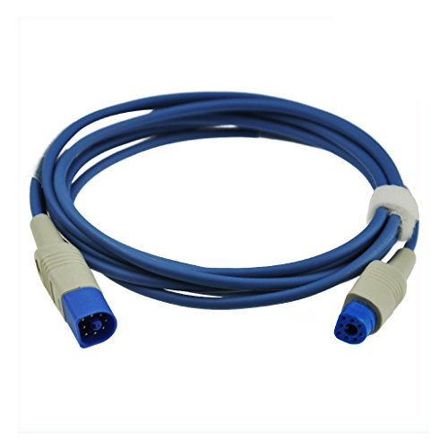 Sino-k Compatible for HP Philips M1941A SpO2 Extension Cable Pulse Sensor 8 Pin 7.2 ft FDA/CE Approved from sino-k Medical