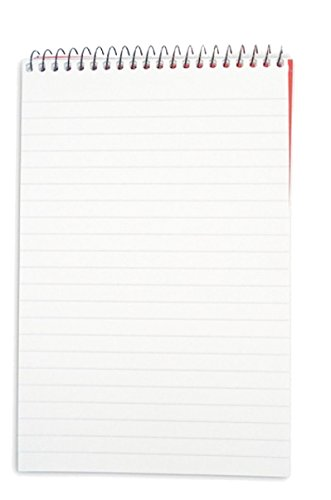 SHORTHAND NOTEBOOK SPIRAL PAD 160 PAGES 8 x 5 PACK 5 from smco