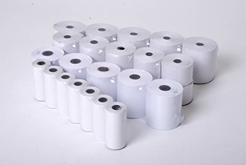 SMCO Credit Card Machine Thermal Paper Till Rolls 57 x 40mm Free DELIVERY PK40 from smco
