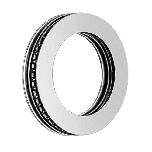 sourcing map AXK3552+2AS Needle Roller Thrust Bearings with Bearing Washers, 35mm Bore Diameter, 52mm OD, 4mm Total Thickness from sourcing map