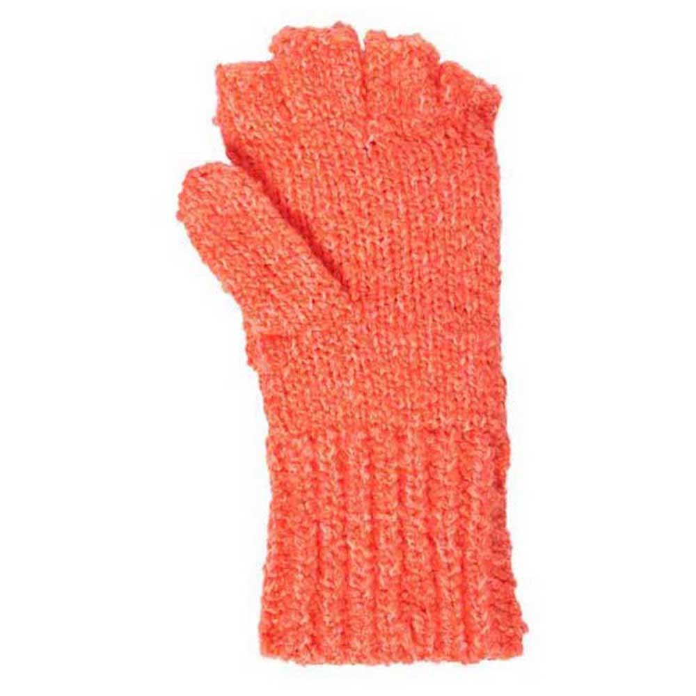 Superdry Clarrie Stitch Mitten One Size Fluro Coral from Superdry