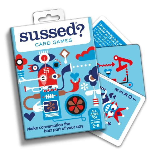 Sussed Lifeology (Conversations You Have Never Had) (Family Friendly Card Game) from SUSSED