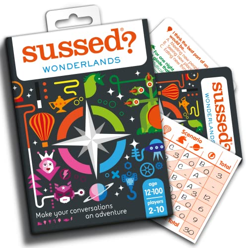 Sussed Wonderlands (Let Your Imagination Run Wild) (Who Knows You: A Pocket Conversation Game) from SUSSED