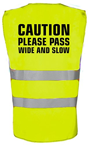 swagwear Caution Please Pass Wide and Slow Equestrian Kids Horse Riding Hi Vis Vest 4 Colours from swagwear