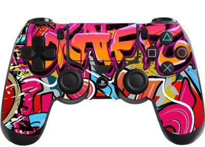 Graffiti Hip Hop Playstation 4 (PS4) Controller Sticker / Skin / Decal / PS18 from the grafix studio