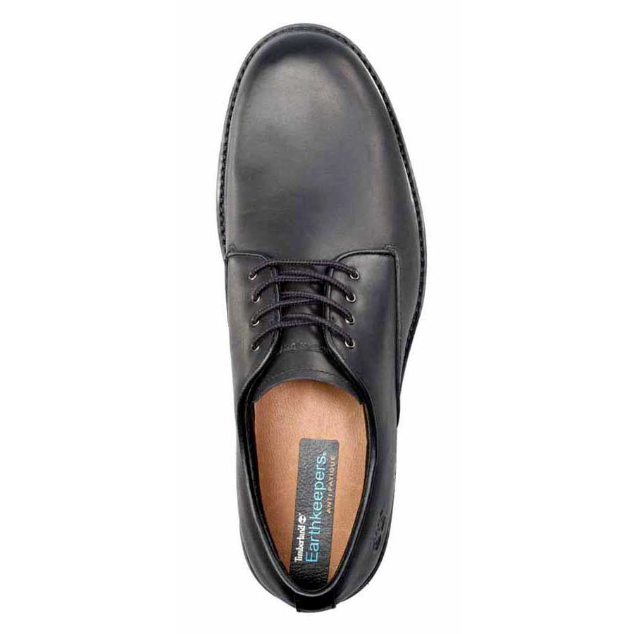 Timberland Stormbuck Plain Toe Oxford EU 41 Smooth Black from Timberland