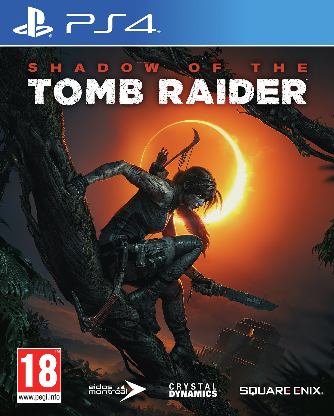 Shadow of the Tomb Raider PS4 Game from tomb raider