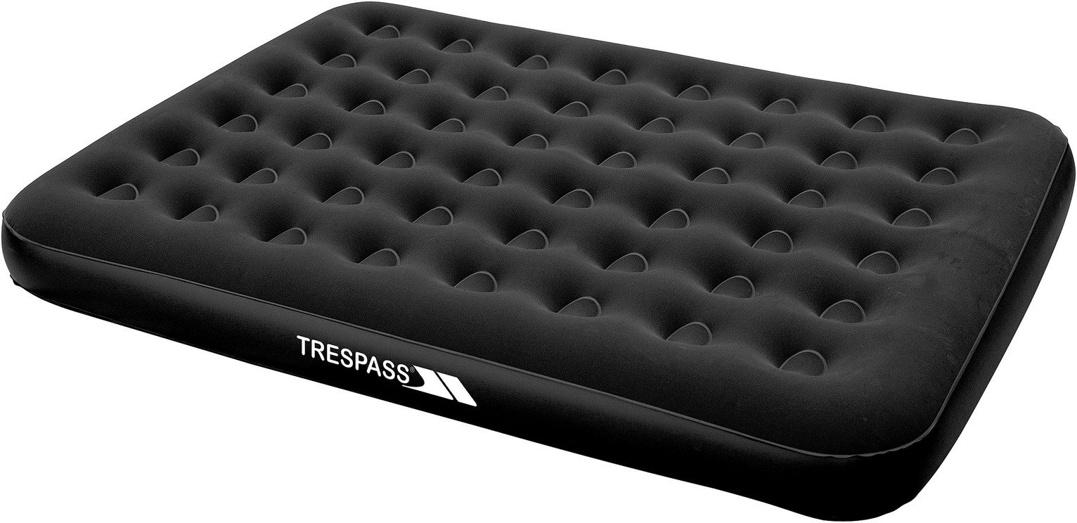 Trespass Kingsize Flocked Air Bed with Mains Pump from trespass
