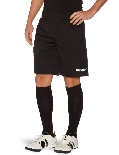 Uhlsport Unisex Sidestep Goal keeper Short - Black, Large from uhlsport