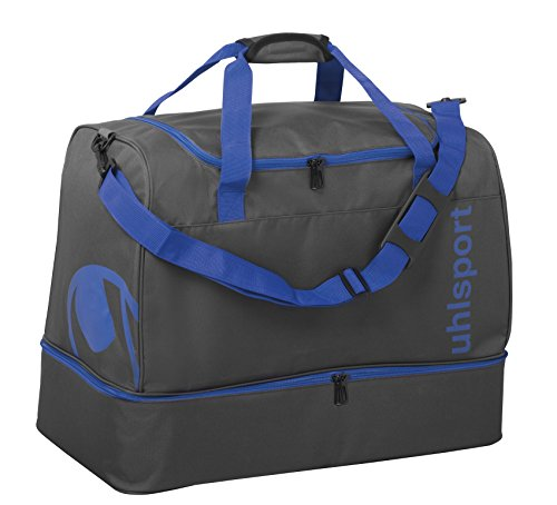 Uhlsport Unisex Adult Essential 2.0 Players Sport Bag - Anthracite/Azure Blue, Small from uhlsport