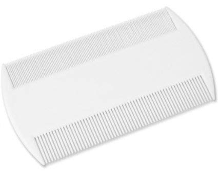 Practical & Efficent Head Lice & Pet Flea Plastic Nit Comb With Fine Tooth from ultimatesalestore