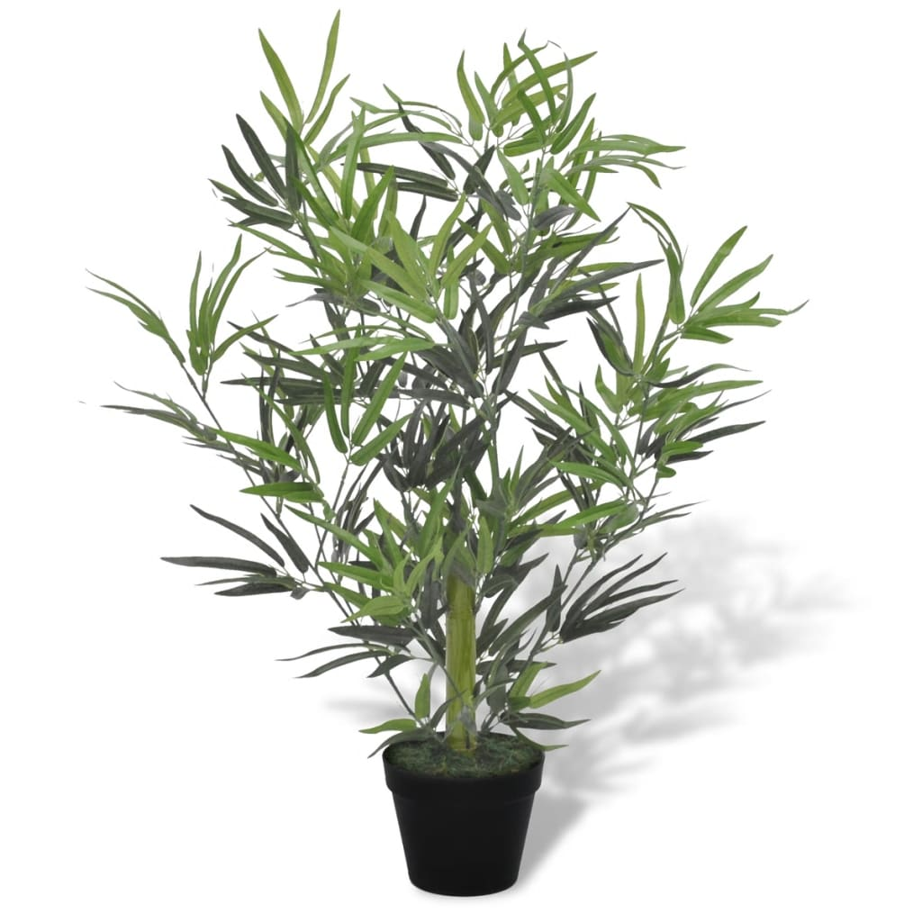 vidaXL Artificial Bamboo Tree with Pot 80 cm from vidaXL