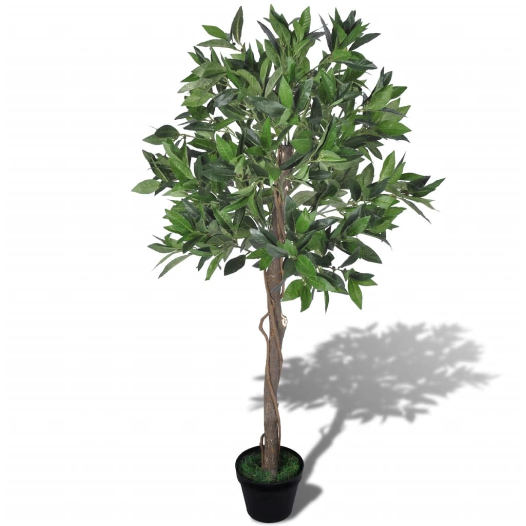 vidaXL Artificial Bay Tree with Pot 120 cm from vidaXL