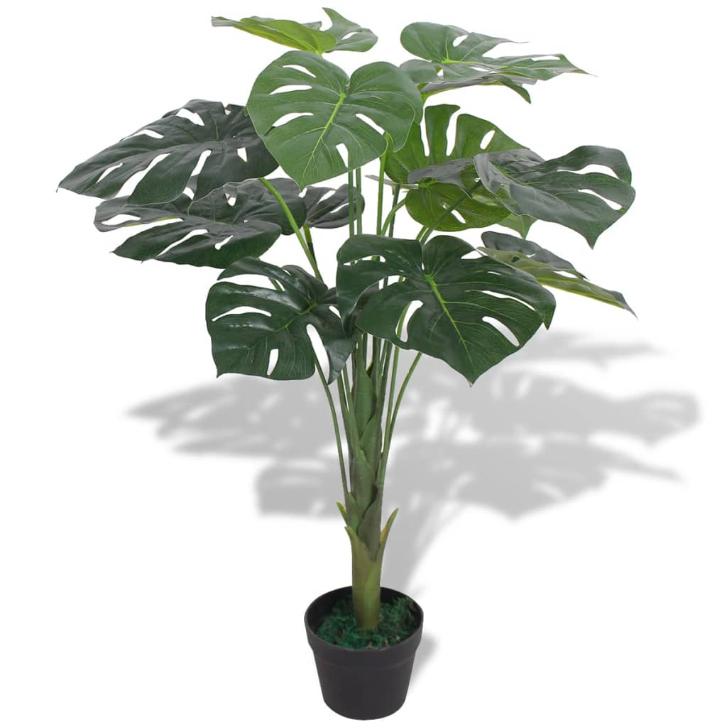 vidaXL Artificial Monstera Plant with Pot 70 cm Green from vidaXL